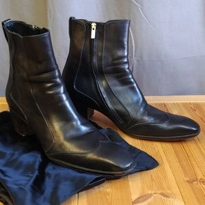 Yves Saint Laurent Shoes - YSL Men's Jonny 65 Boots Tom Ford Espresso 45 US11